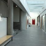 Institute of Criminology basement corridor