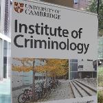 Institute of Criminology foyer banner