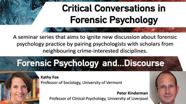Forsenic Psychology and Discourse Title image