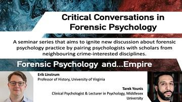 Forensic Psychology and....Empire poster