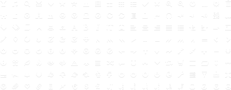 glyphicons halflings white