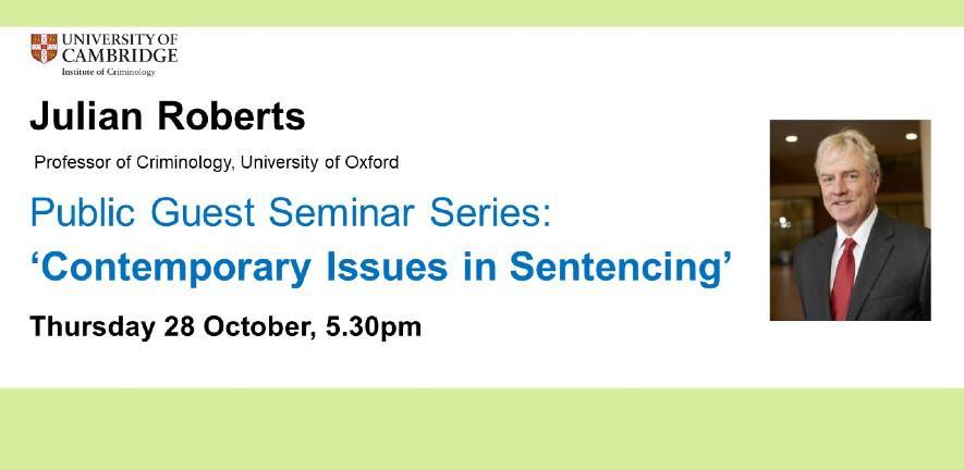 Public Guest Seminar Flier Julian Roberts