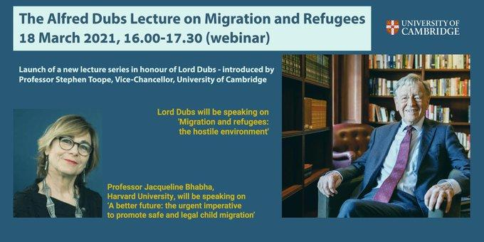 Alfred Dubc Lecture on Migration and Refugees