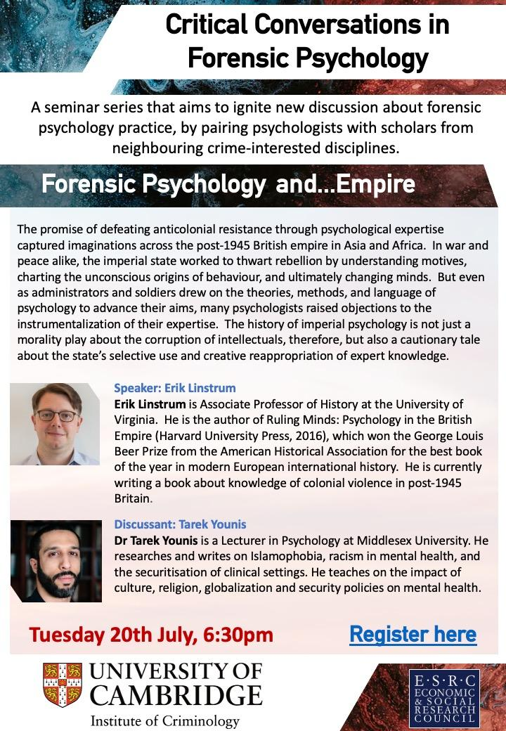 Forensic Psychology and Empire