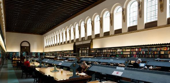 University Library study room